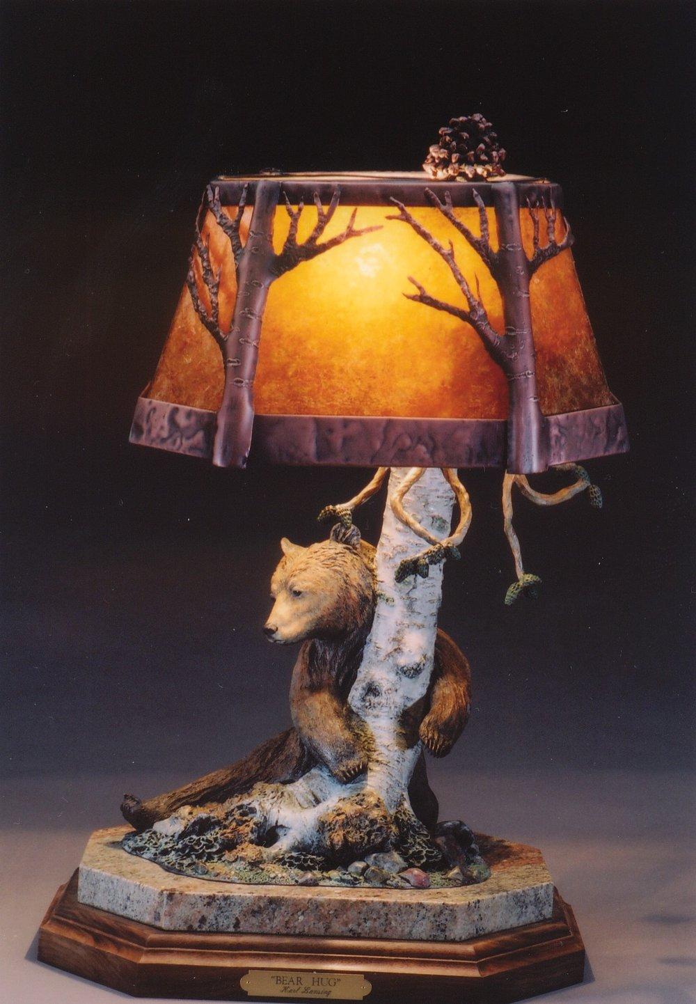 Bear Hug Lamp