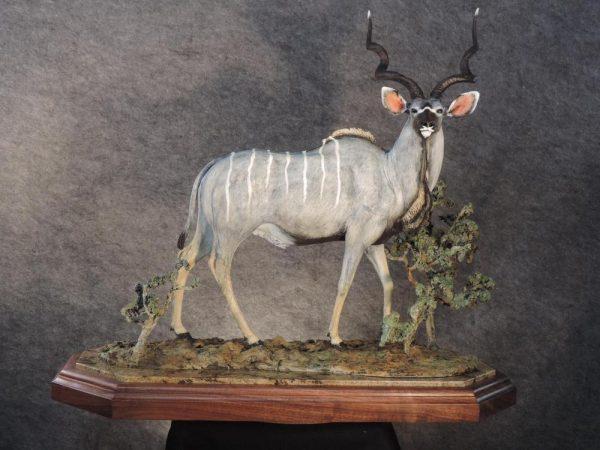 """Grey Ghost30""""L 27""""H 13""""W - ed. /12 - Wildlife Bronze Sculpture"""
