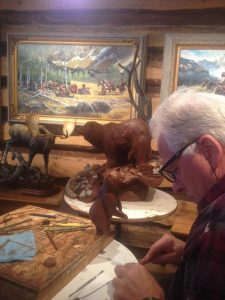 Karl Lansing Sculpting Clay - Wildlife Bronze Sculpture