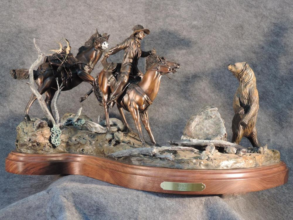 "Whoa!27L 15H 16""W - ed./15 - Wildlife Bronze Sculpture Bronze Sculpture of Horses Bronze Equine Statues"