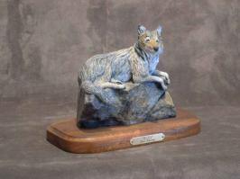 Wolf6-8L & H - ed./75 - Wildlife Bronze Sculpture